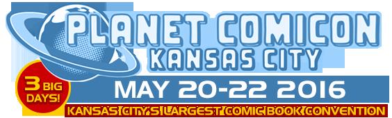 Planet Comicon Test Site Logo