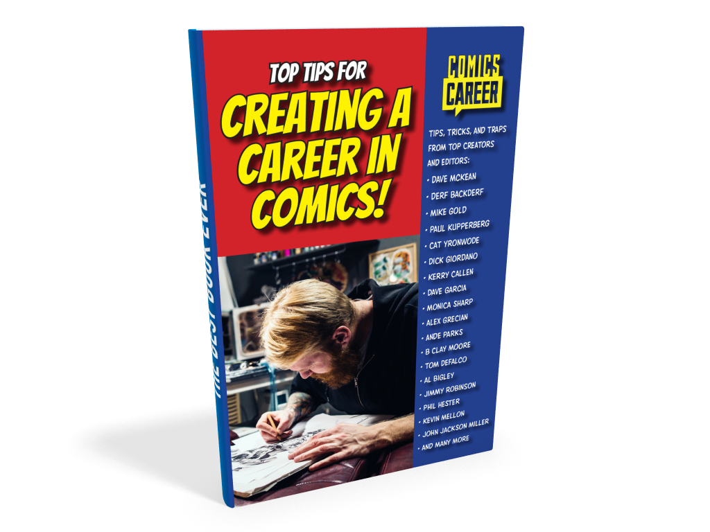 Image of the cover of Top Tips for Creating a Career in Comics